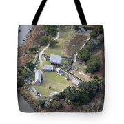 Aerial Near Jekyll Island Tote Bag