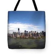 2-aerial View Of Manhattan Tote Bag