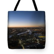 Aerial View Of Melbourne Tote Bag