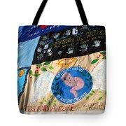 Aids Quilt -- 3 Tote Bag
