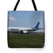 Air Transat Airbus A330 Tote Bag