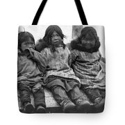 Alaska Eskimo Children Tote Bag