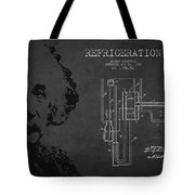 Albert Einstein Patent Drawing From 1930 Tote Bag