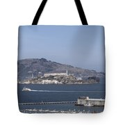 Alcatraz, C1998 Tote Bag