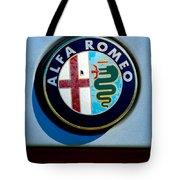 Alfa Romeo Emblem Tote Bag