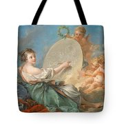 Allegory Of Painting Tote Bag