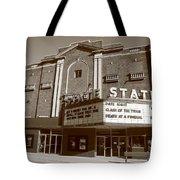 Alpena Michigan - State Theater Tote Bag