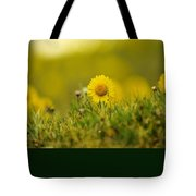 Alpine Flowers Tote Bag