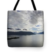Alpine Lake With Islands Tote Bag