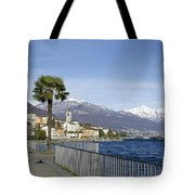 Alpine Village On The Lakefront Tote Bag