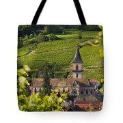 Alsace Church Tote Bag