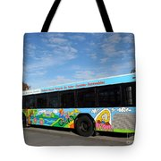 Ameren Missouri And Missouri Botanical Garden Metro Bus Tote Bag