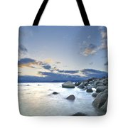 An Evening At Tahoe Tote Bag