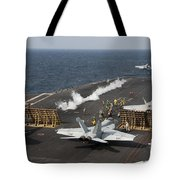 An Fa-18 Hornet Launches Tote Bag