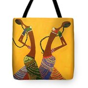 An Indian Dance Form Tote Bag