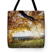 Abstract Irish Sunset Tote Bag