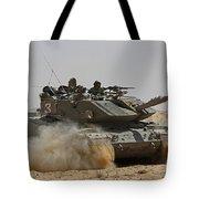 An Israel Defense Force Magach 7 Main Tote Bag