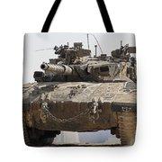 An Israel Defense Force Merkava Mark II Tote Bag