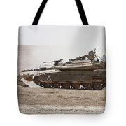 An Israel Defense Force Merkava Mark Iv Tote Bag