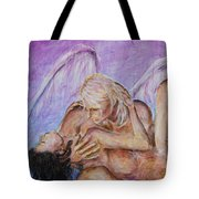 Angel In Love Tote Bag