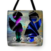 Angels Flight Tote Bag
