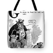 Anti-trust Cartoon, 1902 Tote Bag