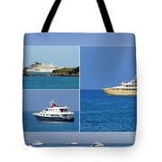 Antibes - Superyachts Of Billionaires Tote Bag