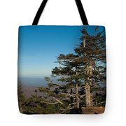 Appalachian Mountains From Mount Mitchell  Tote Bag