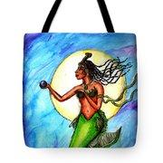 Arania Queen Of The Black Pearl Tote Bag