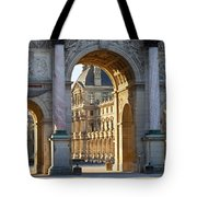 Arc De Triomphe Du Carrousel Tote Bag