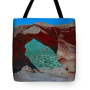 Arch Rock - Valley Of Fire State Park Tote Bag