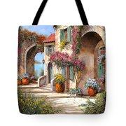 Archi E Fiori Tote Bag