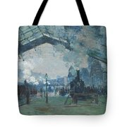 Arrival Of The Normandy Train Tote Bag