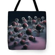 Arsenic Molecular Structure Tote Bag