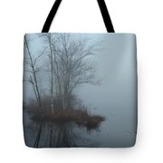As The Fog Lifts Tote Bag