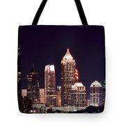 Atlanta From Above Tote Bag