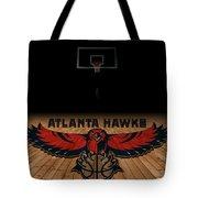 Atlanta Hawks Tote Bag