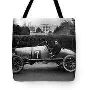 Automobiles Racing Tote Bag