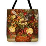 Autumn Blossoms Tote Bag