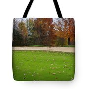 Autumn On The Green Tote Bag