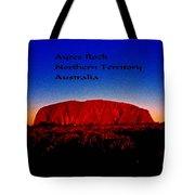 Ayres Rock Tote Bag