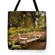 Azalea Garden Tote Bag