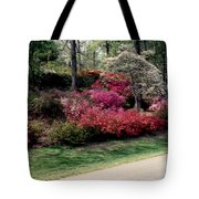 Azaleas And Dogwood Tote Bag