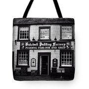 Bakewell  Pudding Factory In The Peak District - England Tote Bag