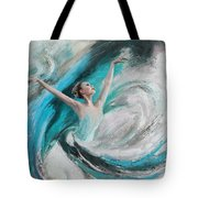 Ballerina  Tote Bag by Corporate Art Task Force