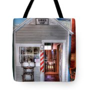 Barber Shop  Tote Bag