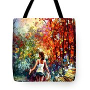 Barefooted Stroll Tote Bag
