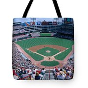 Baseball Stadium, Texas Rangers V Tote Bag