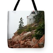 Bass Harbor Head Light Tote Bag