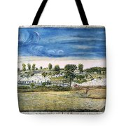 Battle Of Concord, 1775 Tote Bag